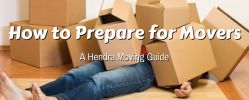 How to Prepare For Professional Movers