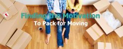 Finding the Motivation to Pack for Moving