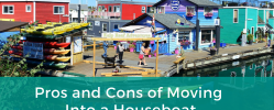 Pros and Cons of Moving Into a Houseboat