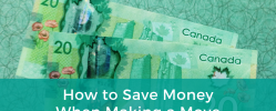 Ways To Save When Making A Move