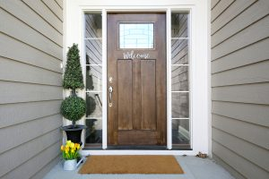 changing locks to exterior doors