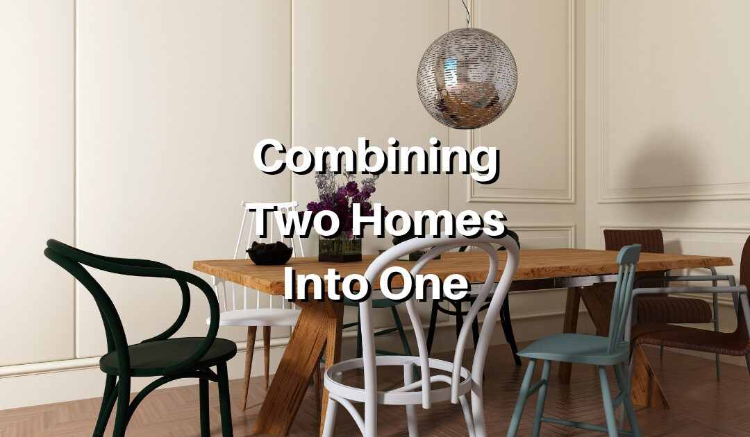 How to Combine Two Living Spaces into One