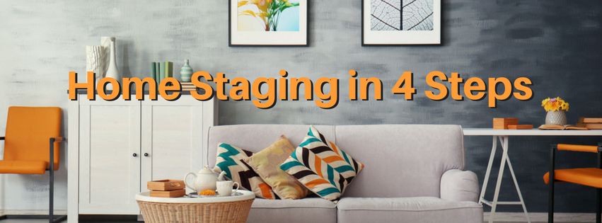 How to Stage Your Home While Packing in 4 Easy Steps