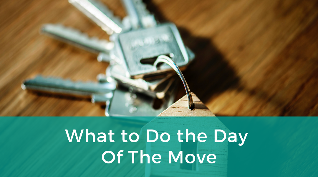 What to Do the Day Of the Move